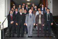 Zdjęcie grupowe z Dyrektorem KSAP Janem Pastwą.