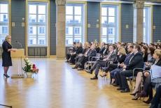 Wystąpienie Szefa Kancelarii Prezesa Rady Ministrów Beaty Kempy podczas uroczystości ślubowania nowych urzędników służby cywilnej