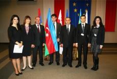 Zdjęcie grupowe uczestników z Azejberdżanu.