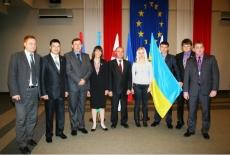 Zdjęcie grupowe uczestników z Ukrainy.