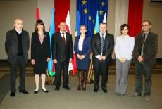 Zdjęcie grupowe uczestników z Gruzji.