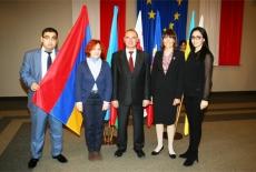Zdjęcie grupowe uczestników z Armenii.