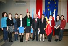 Zdjęcie grupowe uczestników z Mołdawii.