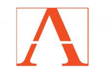 Logo AZIP - pomarańczowe A