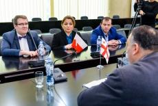 podczas rozmów przedstawicieli KSAP i gruzińskiej szkoły