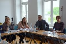 Uczestnicy podczas spotkania.