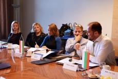 przedstawiciele partnerów projektu podczas spotkania