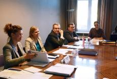 przedstawiciele KSAP podczas spotkania