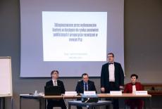 przedstawiciele KSAP i Urzędu Zamówień Publicznych podczas otwarcia Akademii