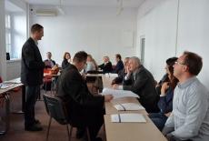 Uczestnicy konferencji podczas warsztatu
