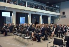 Uczestnicy uroczystości w auli KSAP.