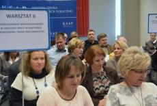 Uczestnicy konferencji podczas sesji podsumowującej