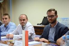 Uczestnicy delegacji podczas spotkania