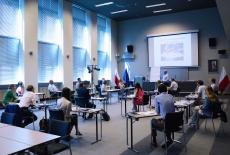 uczestnicy projektu podczas warsztatu
