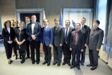 Zdjęcie grupowe wszystkich uczestników spotkania