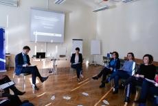 Uczestnicy warsztatu podczas zajęć