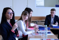 Uczestnicy szkolenia podczas zajęć