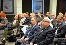 Uczestnicy spotkania w auli KSAP.
