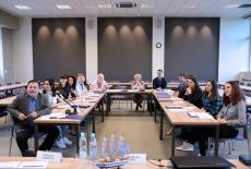 Uczestnicy seminarium podczas zajęć