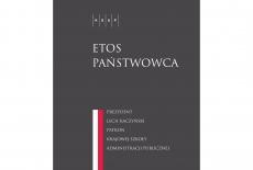 """okładka książki """"""""Etos Państwowca"""""""