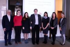 Zdjęcie grupowe, przedstawiciele KSAP, Fundacji Liderzy Przemian i stażystki z NAPA Odessa