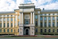 Budynek Kancelarii Prezesa Rady Ministrów, widok od Al. Ujazdowskich