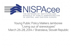 Plakat promujący projekt NISPAcee Young Public Policy Makers Jamboree