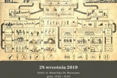 plakat wydarzenia przedstawiający schemat Polskiego państwa Podziemnego oraz informacje organizacyjne