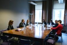 Spotkanie przedstawicieli KSAP, Fundacji Liderzy Przemian i gości z NAPA Odessa