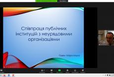 ekran z prezentacja