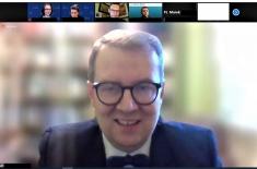 zrzut ekranu z uczestnikami szkolenia