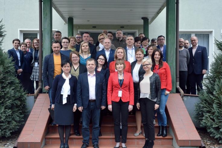 Zdjęcie grupowe wszystkich uczestników szkolenia