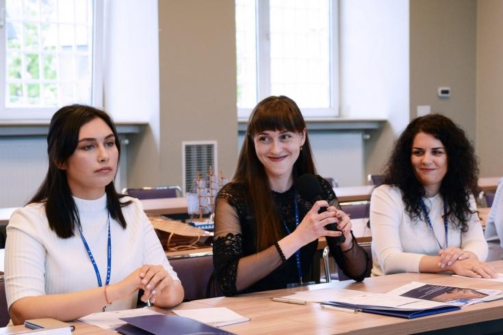 Uczestniczki seminarium podczas zajęć