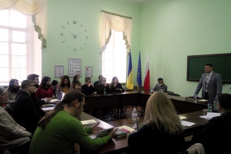 Uczestnicy konferencji podczas dyskusji