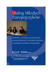 Okładka publikacji Dialog Młodych Europejczyków