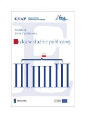 Okładka publikacji Etyka w słuzbie publicznej Jacek Czaputowicz