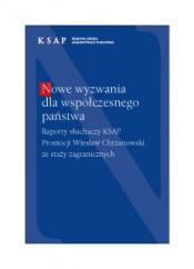 Okladka publikacji Nowe wyzwania dla współczesnego państwa