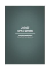 okładka książki - na szarym tle na biało tytuł publikacji