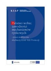 Okładka publikacji Państwo wobec zawodności mechanizmów rynkowych
