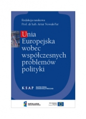 Okładka publikacji Unia Europejska wobec współczesnych problemów polityki