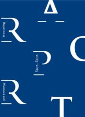 """Okładka raportu 2013-2015, na niebieskim tle biały tytuł """"Raport 2013-2015"""""""