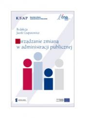 Okładka do publikacji Zarzadzanie zmianą w administracji publicznej