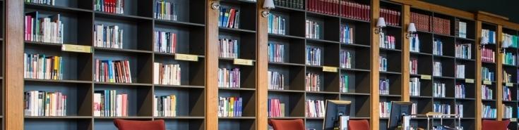 Wnętrze biblioteki KSAP