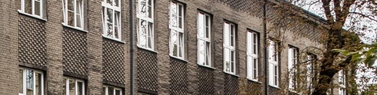 Fasada budynku KSAP