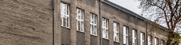 Część fasady budynku KSAP