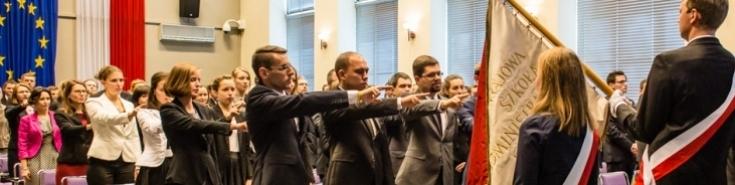 Inauguracja Słuchaczy KSAP
