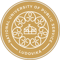 logo węgierskiego partnera projektu National University of Public Service
